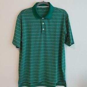 Green Adidas Climalite Golf polo